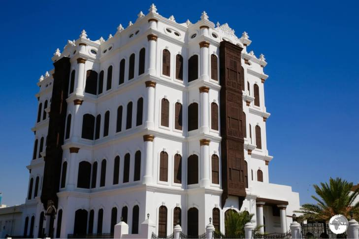 The most dazzling building in Taif, the Shubra Palace once served as a Royal residence.