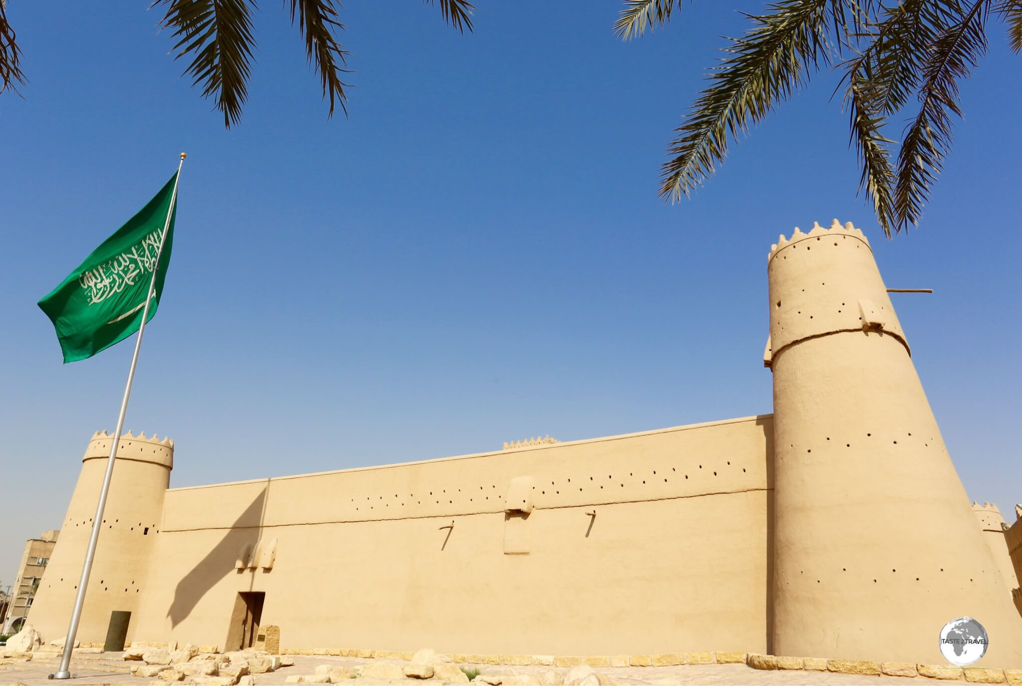 Al Masmak fort in Riyadh played a major part in the kingdom's history, being the first place to be conquered by King Abdulaziz.