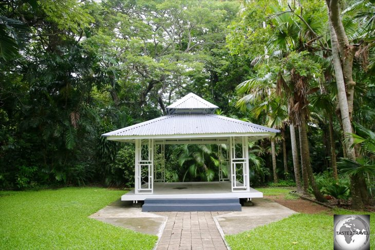 Port Moresby Nature Park includes 30-acres of landscaped gardens and the only tract of rainforest in the capital.