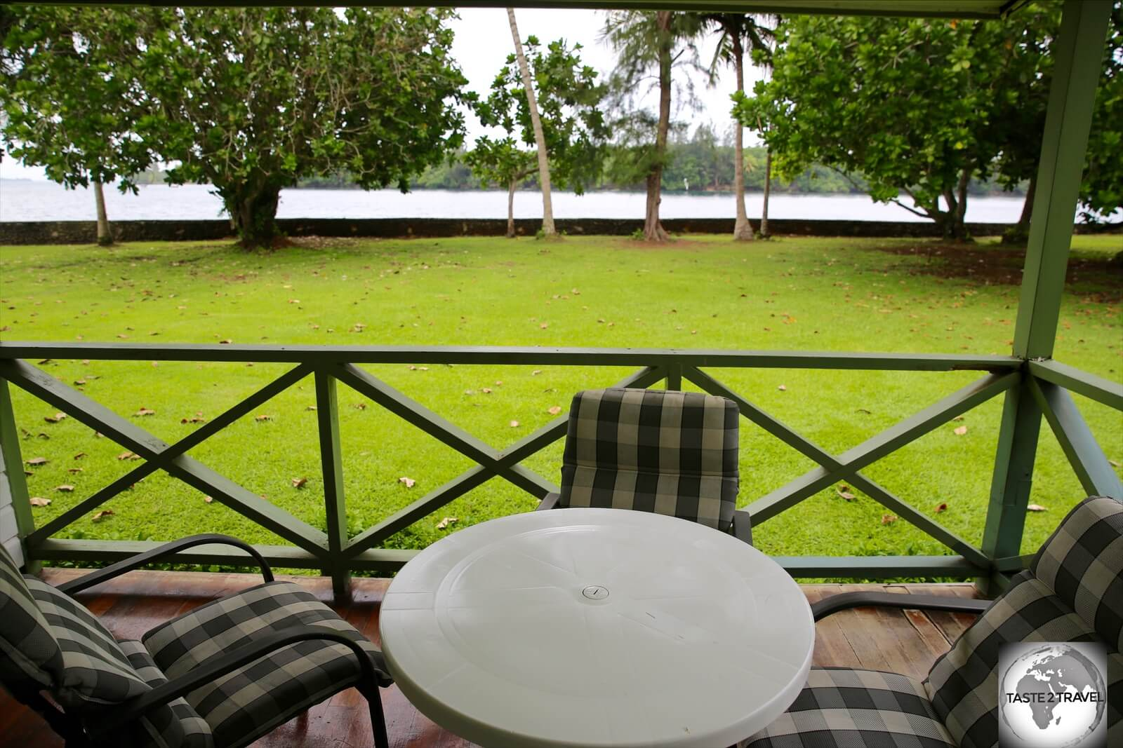 Set in lush gardens, the Madang resort is located on the waterfront, overlooking Madang harbour.