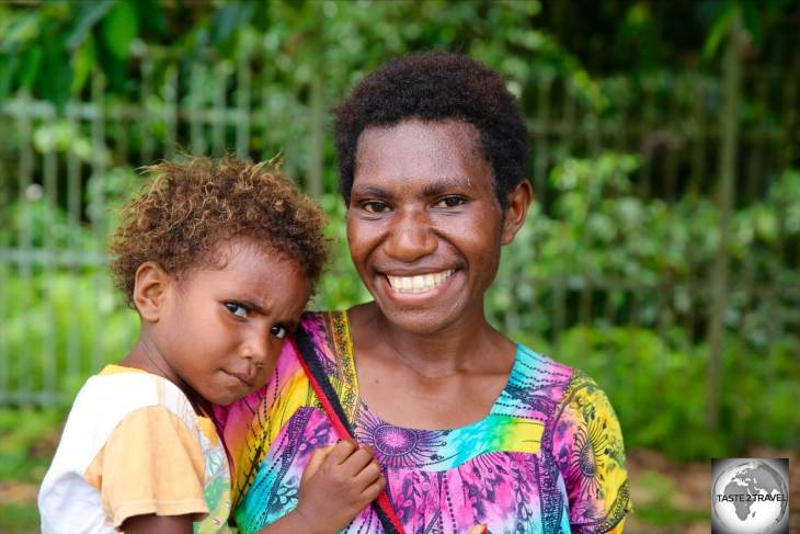 The people of Papua New Guinea are incredibly friendly and welcoming and always happy to pose for the camera.