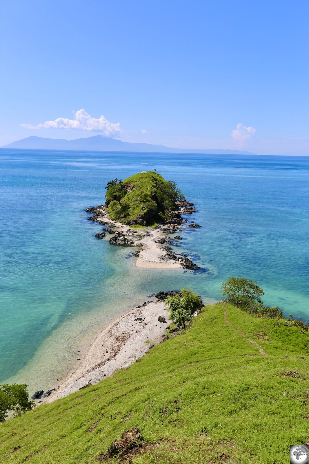 A typical north coast view on Timor-Leste.