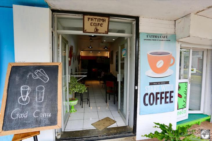 The best coffee in Dili is served at Fatima Café.