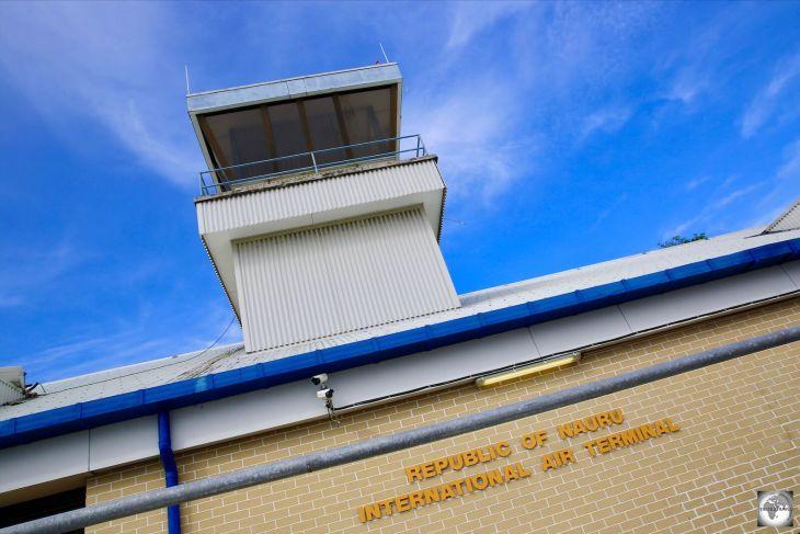 Nauru International Airport Terminal.
