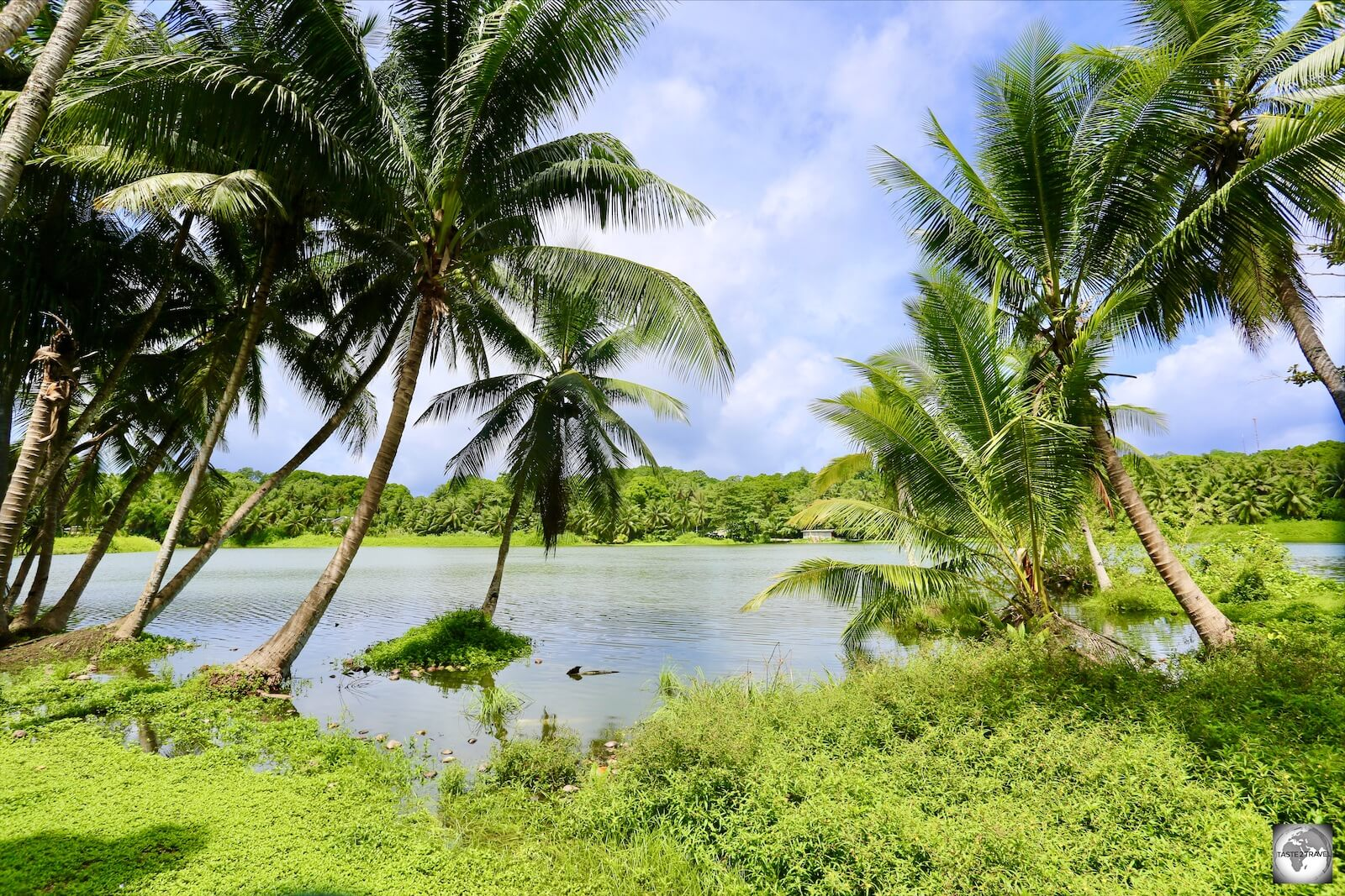 Tiny Buada lagoon has an average depth of 24 metres, with a maximum depth of 78 metres.