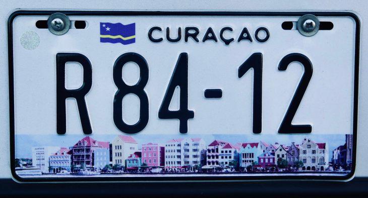 Curaçao License Plate