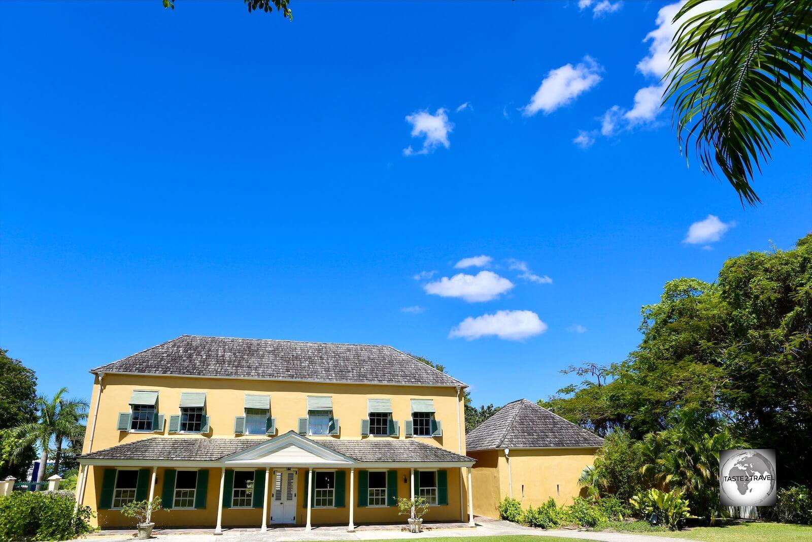 The George Washington House Museum, Barbados.