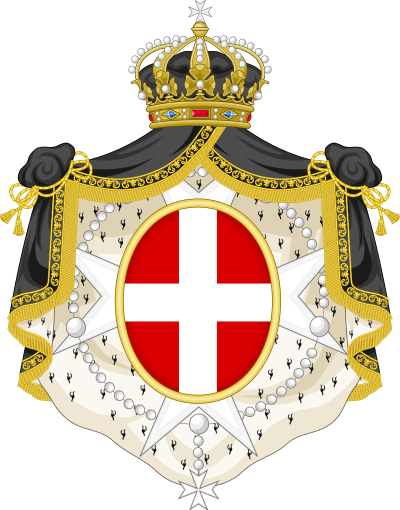 The coat of arms of the Sovereign Military Order of Malta.