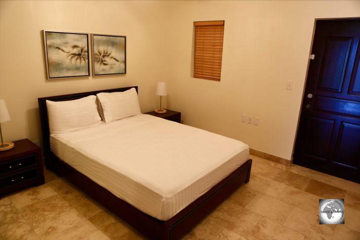The bedroom of my condo.