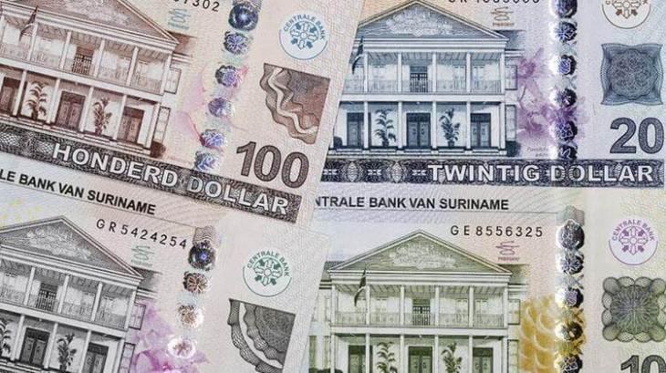 The Surinamese dollar.