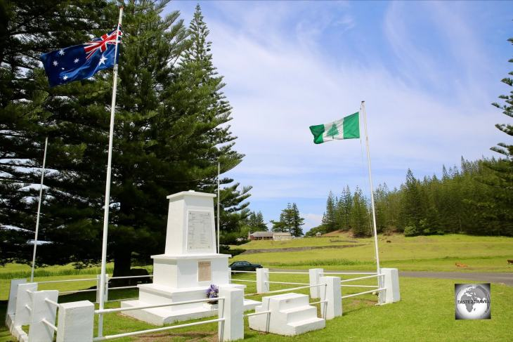 Inaugurated in 1929, the Norfolk Island Cenotaph was originally erected to commemorate those who died in service or were killed in action in World War One.