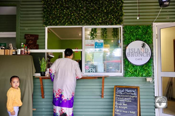 Island Brunch cafe on Home Island, Cocos (Keeling) Islands.