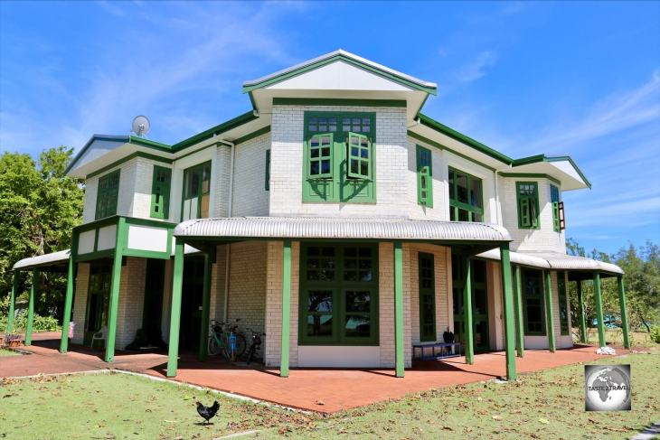 The former residence of the Clunies-Ross family, Oceania House on Home Island, offers a truly memorable accommodation experience.