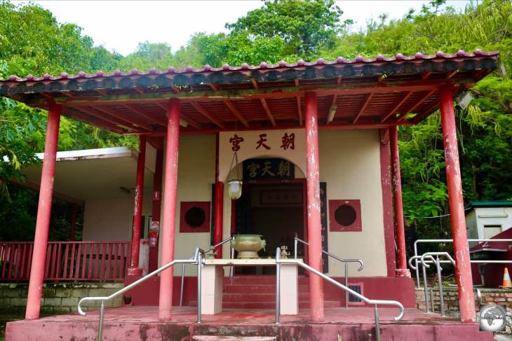 Tai Pak Kong Temple serves the Chinese community at The Settlement on Christmas Island