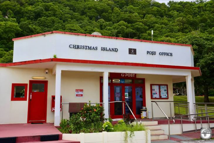 The Christmas Island post office.