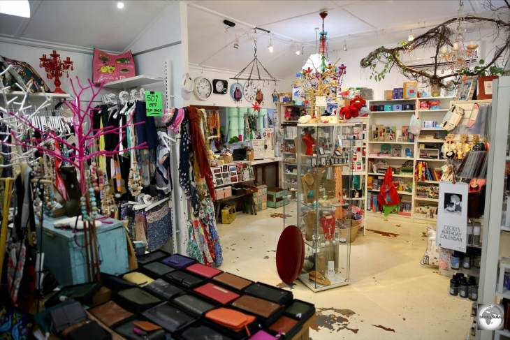 The best shopping on Christmas Island is at the Wild Papaya boutique in Settlement.