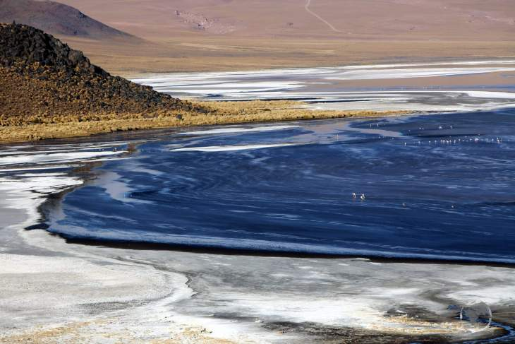 A photographers dream, Laguna Colorada is a highlight of the Bolivian Altiplano, a surreal world of colours and contours, of dramatic scenery and rugged horizons.