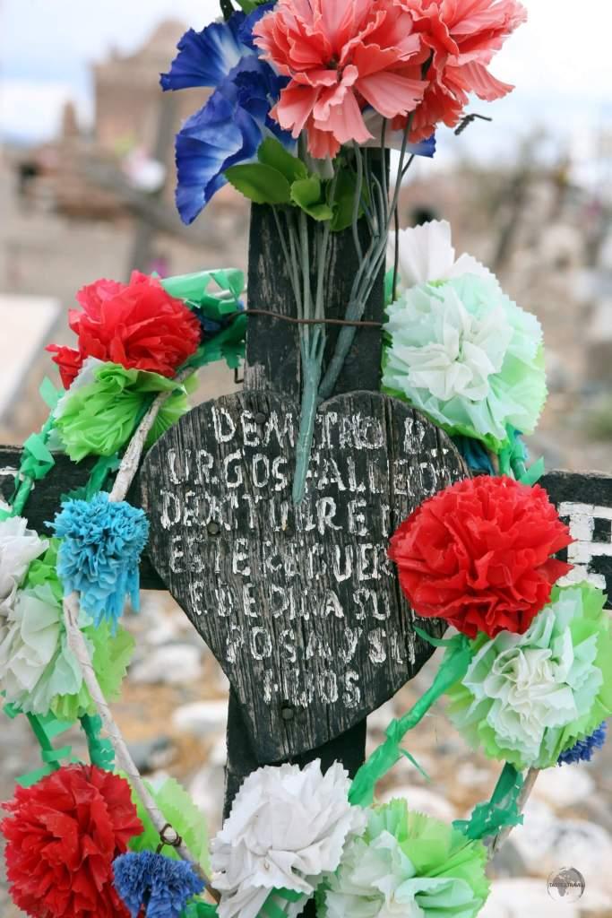 A cemetery in Salta, Argentina.