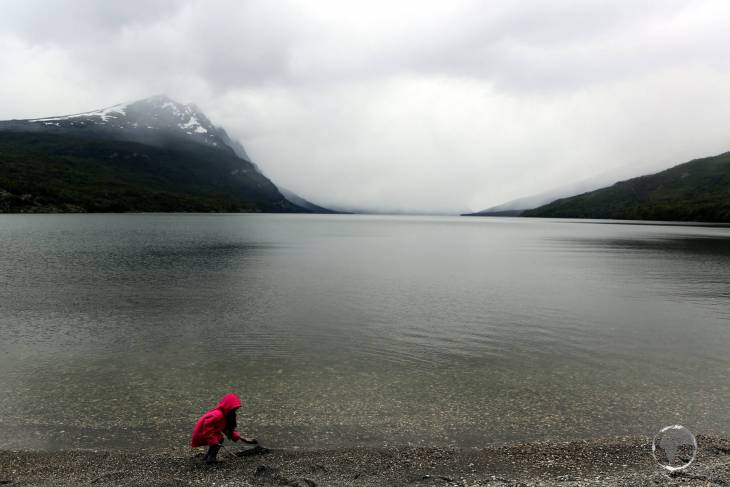 Located in Tierra del Fuego National Park, Lake Roca is an 11 km (6.8 mile) long glacial lake which is surrounded by mountain peaks.