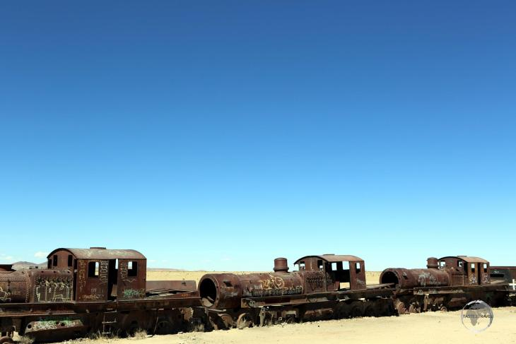 Home to more than one hundred, British-made, locomotives, the Train Graveyard near Uyuni, Bolivia, dates back to the early 20th century.