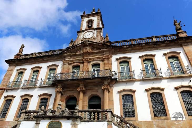 Ouro Preto town hall, Minas Gerais state.