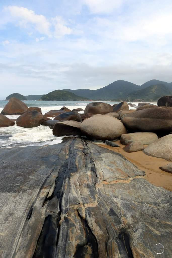 Picturesque Marambaia beach lies a short drive south of Rio de Janeiro.