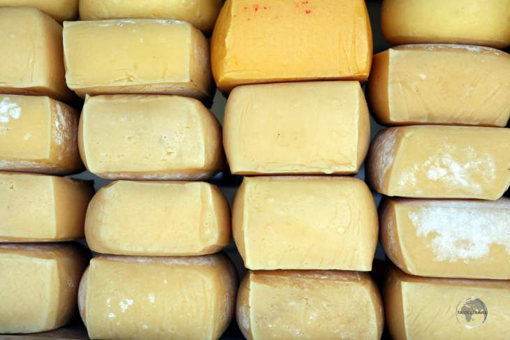 Traditional cheese production around the Lakes district of Chile includes the most popular cheese in Chile, 'Gauda', which is the same as Dutch-style Gouda.