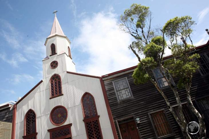 Providing information on the unique wooden churches of Chiloé Island, the 'Iglesia de Chiloé Visitor Centre' is housed in a former church in the northern town of Ancud.