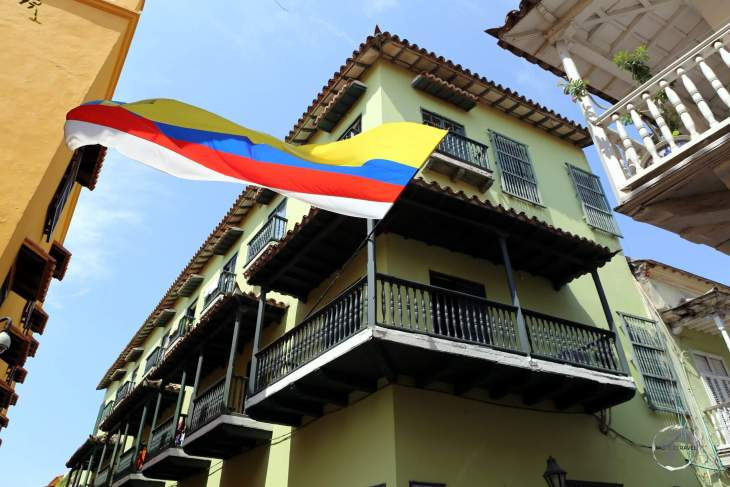 A view of Cartagena old town, which is a treasure trove of Spanish colonial architecture.