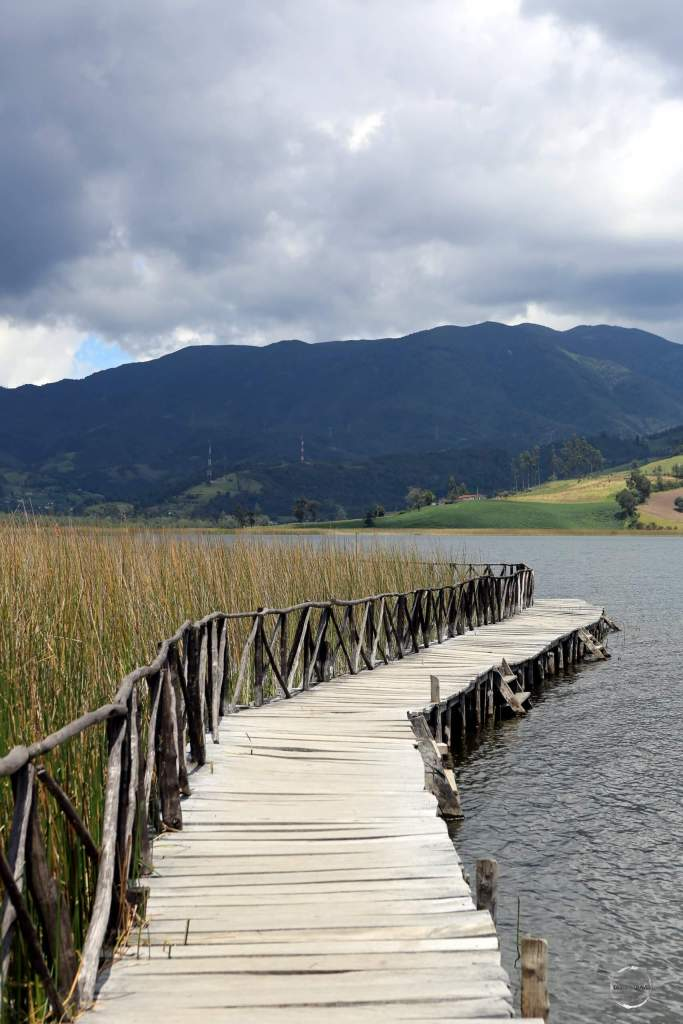 Located in the middle of Laguna de la Cocha, the 12-hectare 'Isla de La Corota', which is surrounded by totora (reed), is home to a small fauna and flora sanctuary.