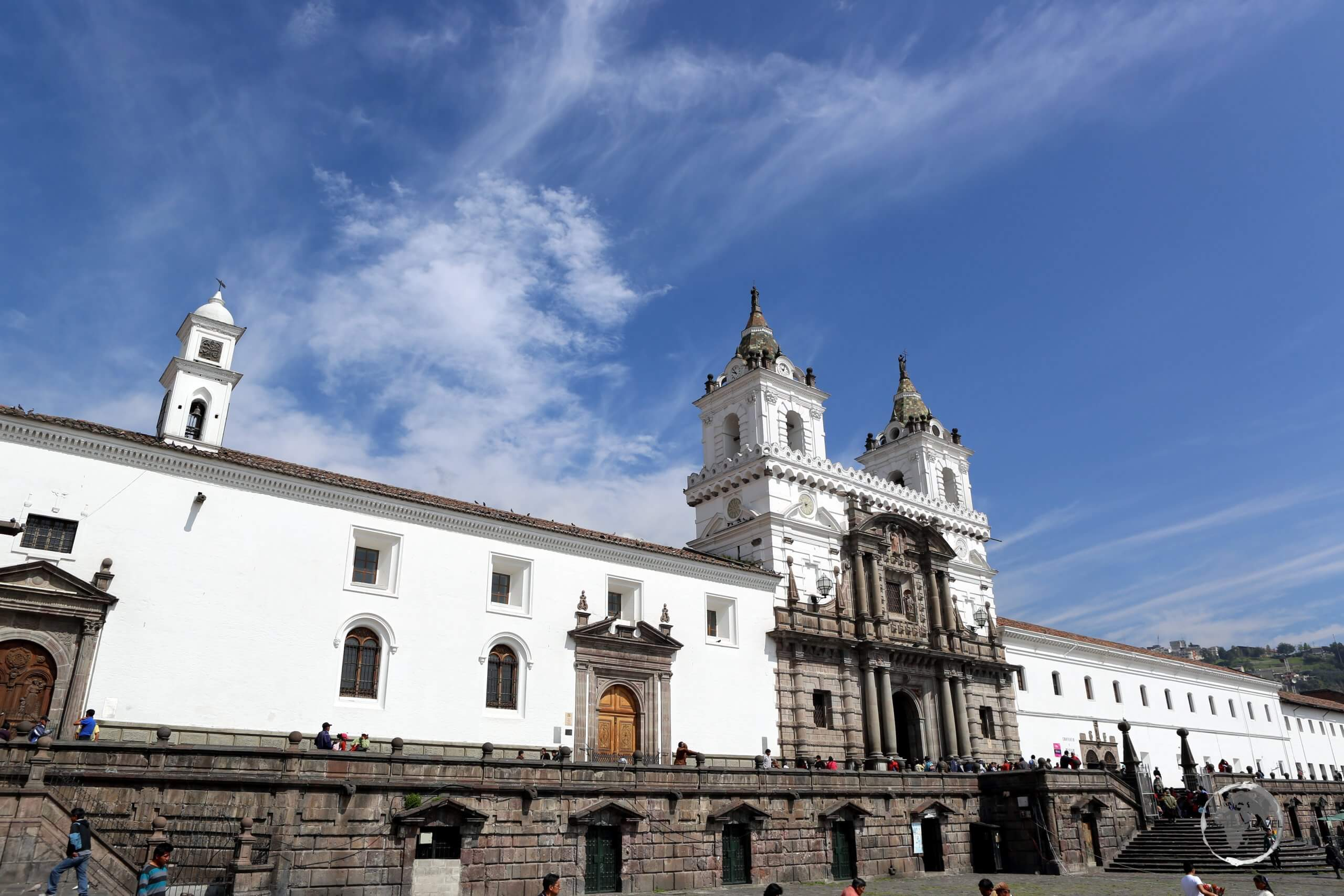 A highlight of Quito, the Church and Convent of St. Francis (Iglesia y Convento de San Francisco), is a vast, 16th-century, Roman Catholic complex which overlooks its namesake - Plaza de San Francisco.