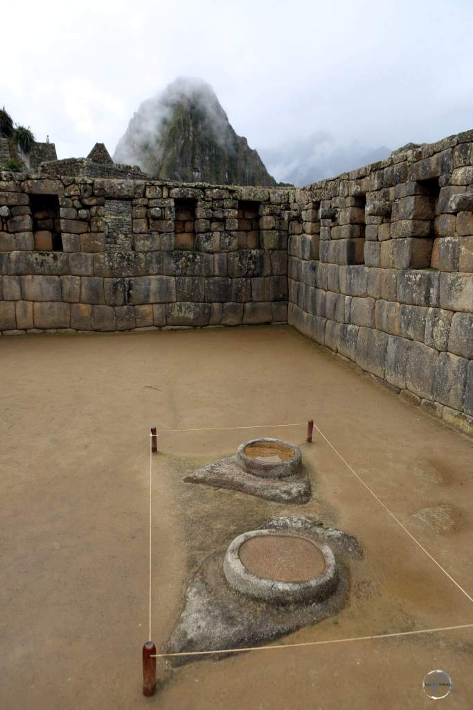 Two stone water mirrors at Machu Picchu may have been used for divination through the reflections that appear when they are filled with clear water.