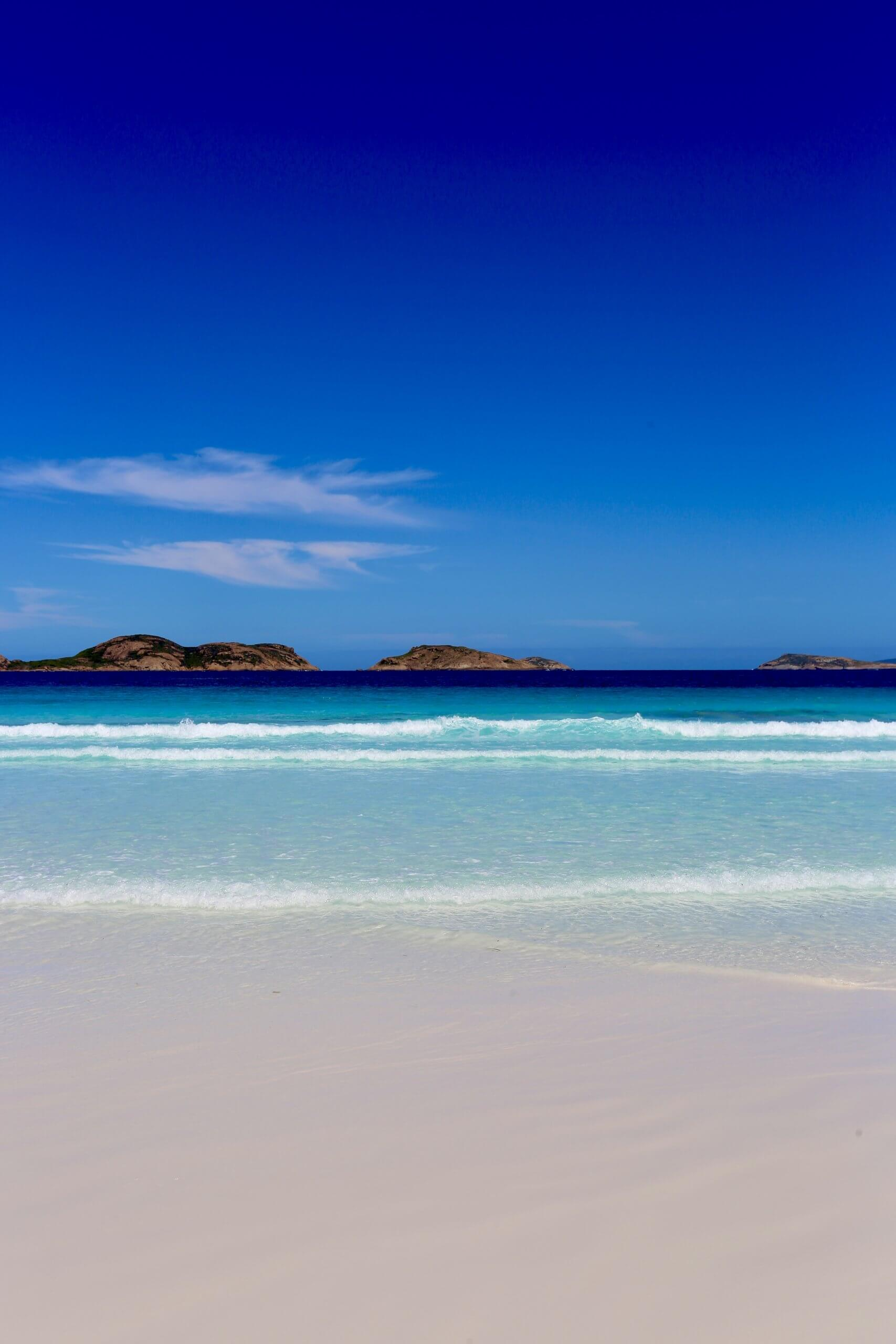 Lucky Bay is a highlight of the Cape Le Grand National Park.