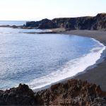 Djúpalónssandur beach is surrounded by spectacular lava fields.