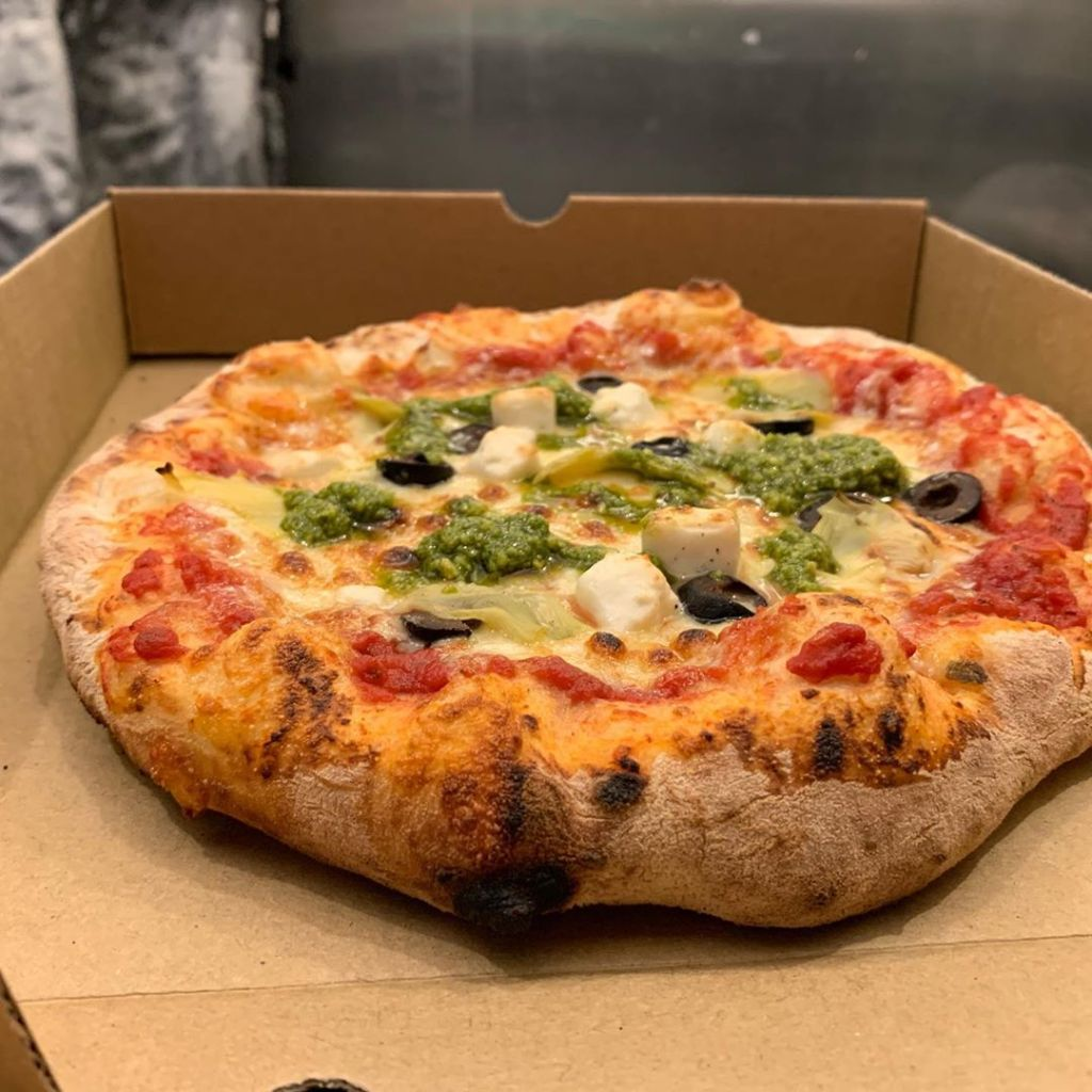 Brum Big Fat Pizza Festival Present The Hulk Green Pizza