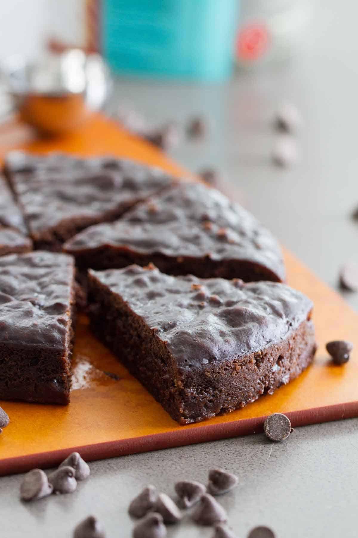 pressure cooker fudgy brownies