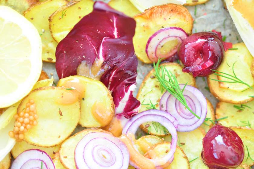 Roasted_new_potatoes_with a_cherry_relish_and_pickled_mustard_seeds_2