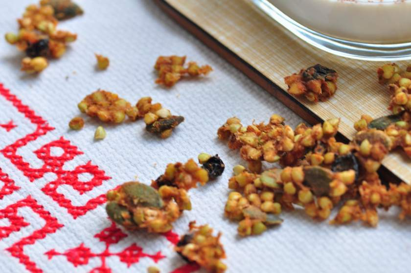Christmas granola with orange and spices_4