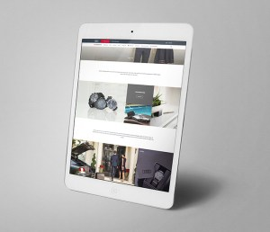 AudiStore home scrolled