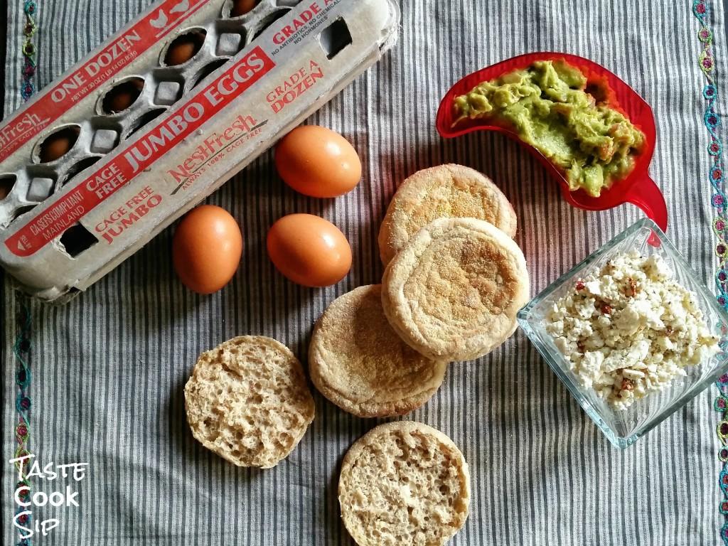 Nest Fresh Eggs Carton Guacamole Taste Cook Sip