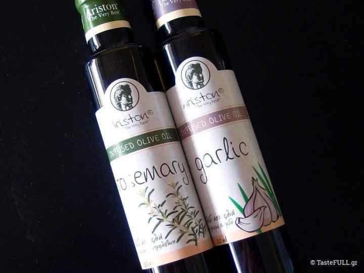 olive oils infused herbs