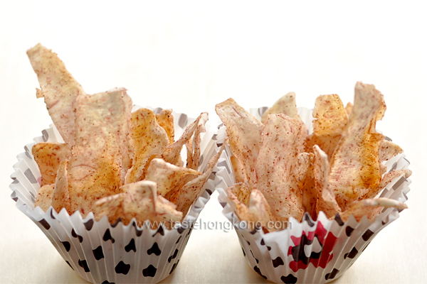 Roasted Taro Chips
