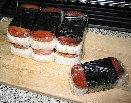 SPAM Sushi anyone?  Musubi is available almost anywhere on the Windward side of Oahu.