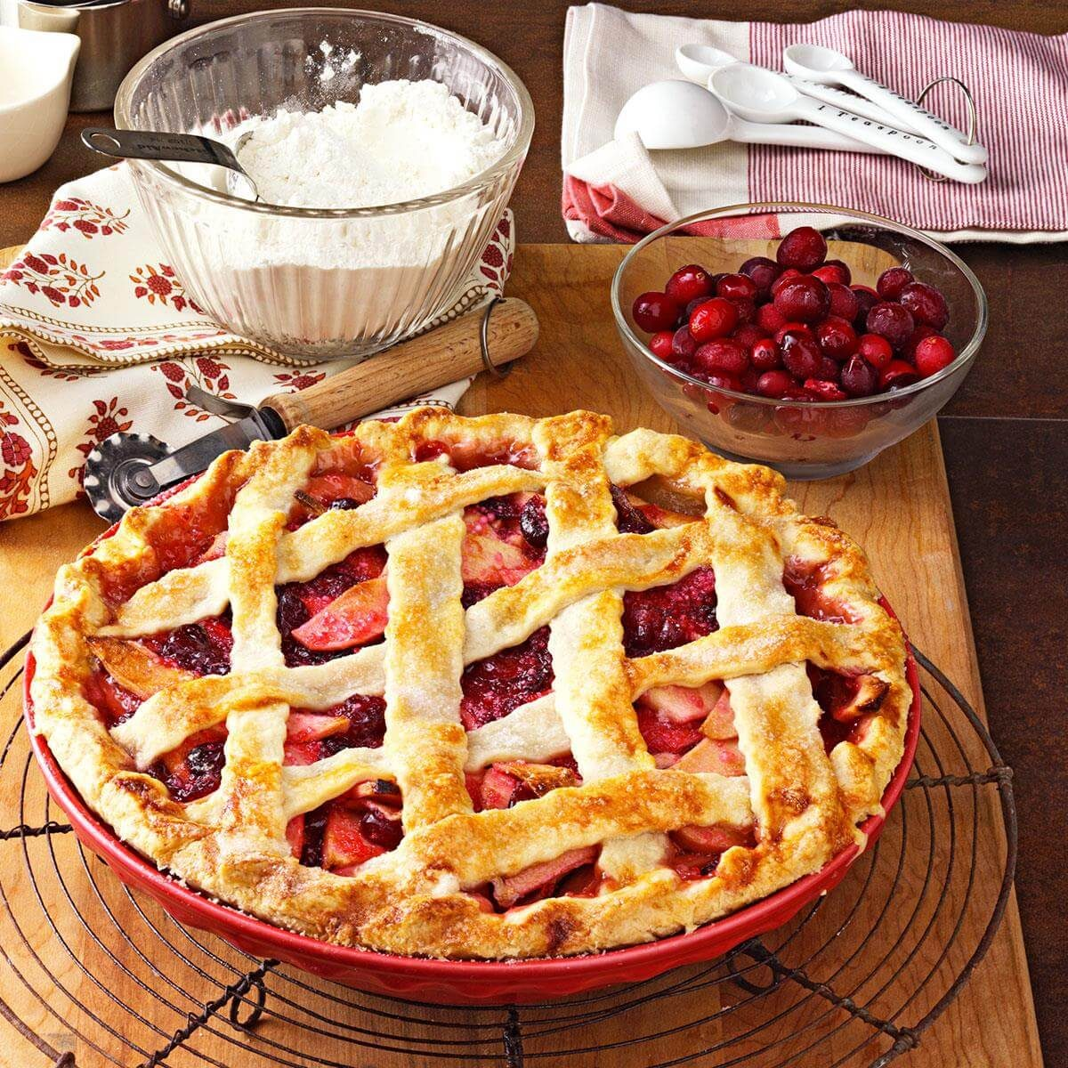 Apple Cranberry Pie Recipe Taste Of Home