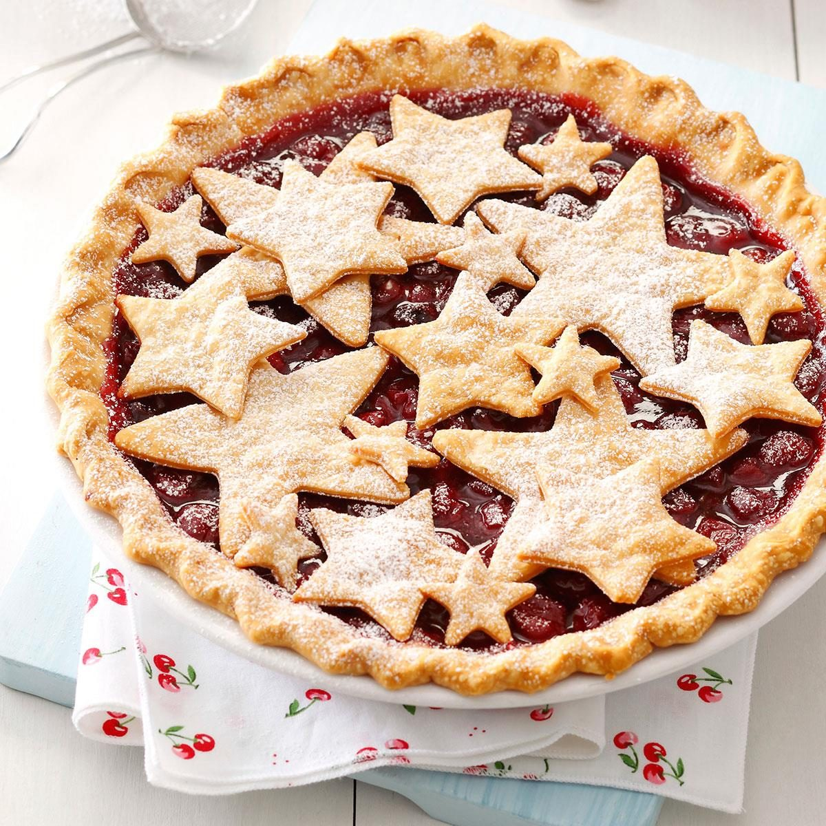 Country Fair Cherry Pie Recipe Taste Of Home