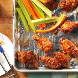 Spicy BBQ Chicken Wings