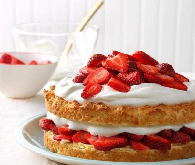 Grandmas Strawberry Shortcake