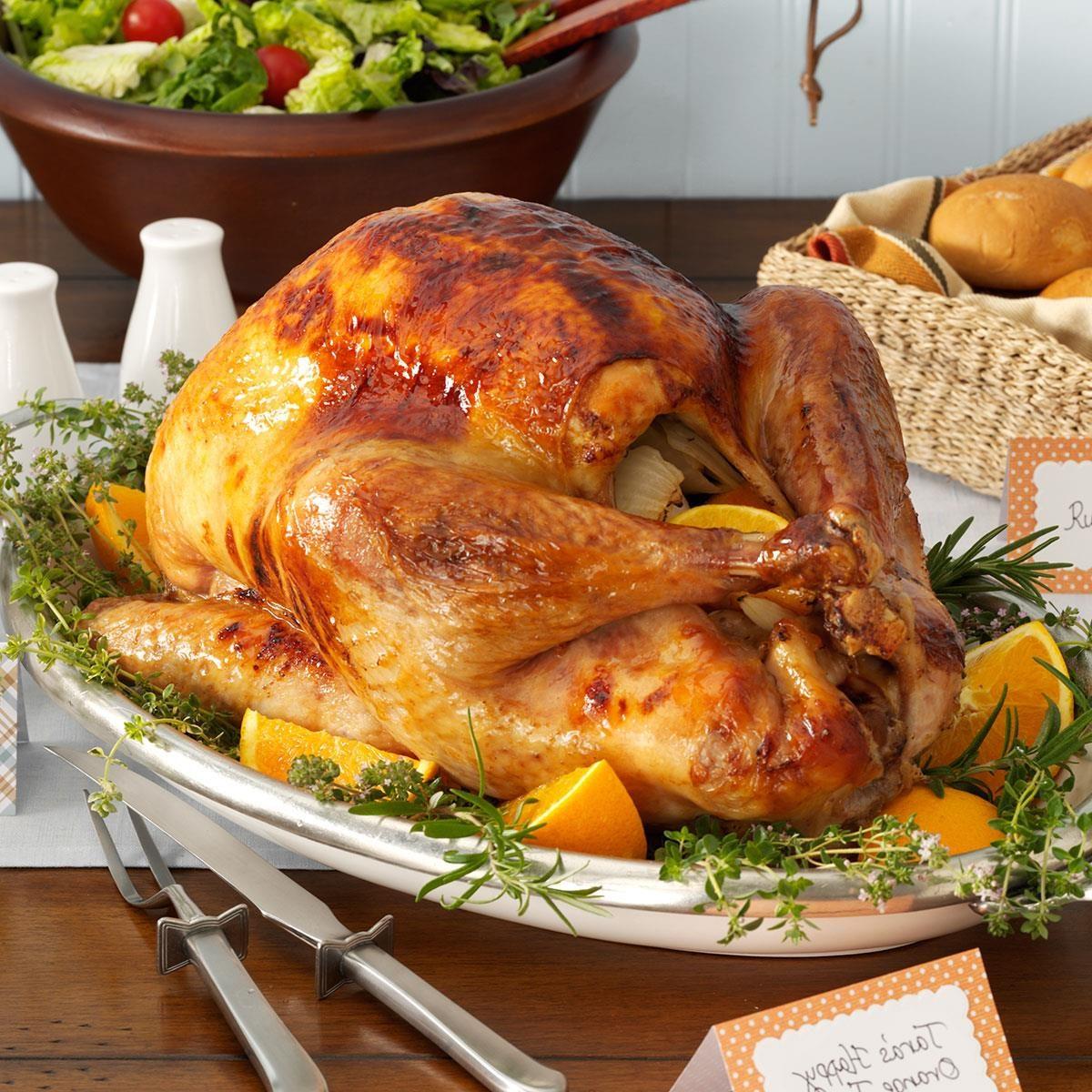 Happy Orange Turkey Recipe Taste Of Home
