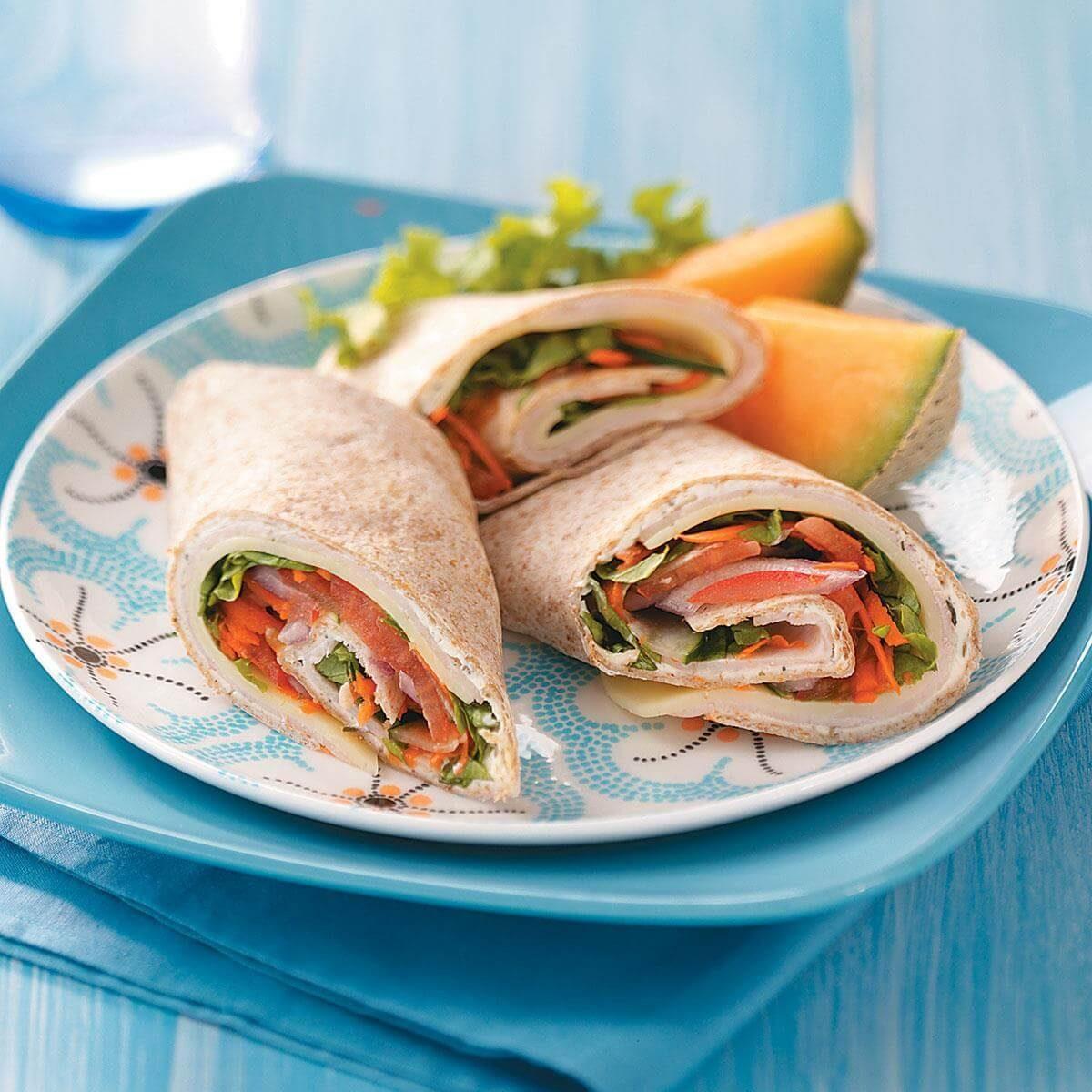 Italian Turkey Roll Ups Recipe
