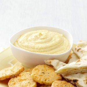 Lemon Garlic Hummus